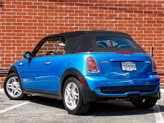 2009 Mini Convertible S John Cooper Works Burbank, CA 8