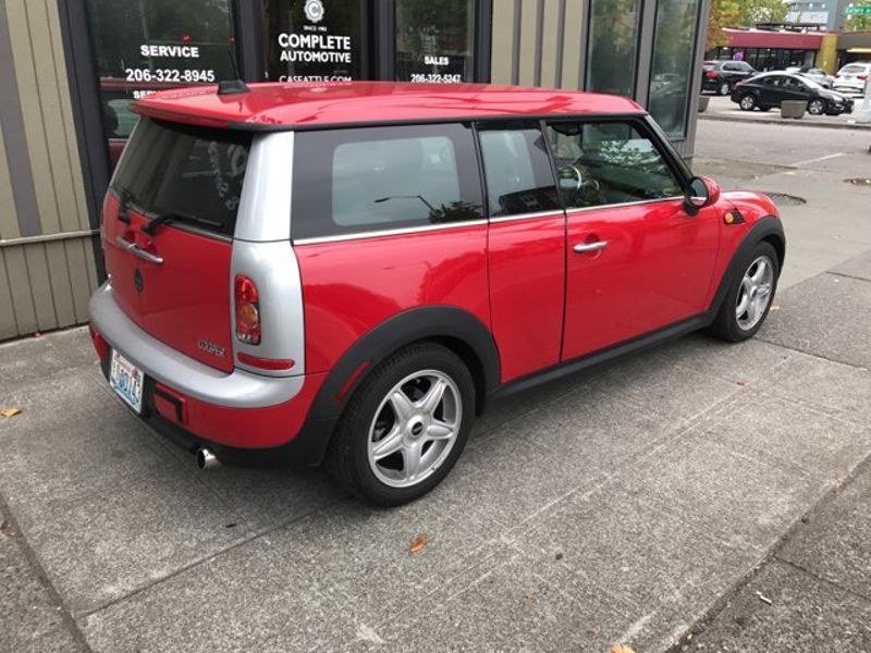 2009 Mini Cooper Clubman Wagon 48000 Original Miles Local  2 Owner Automatic Transmission Chili Red Like New   city Washington  Complete Automotive  in Seattle, Washington