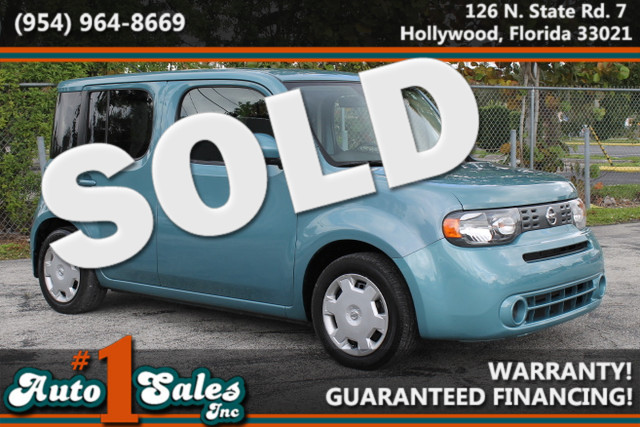 2009 Nissan cube 18 S  WARRANTY CARFAX CERTIFIED AUTOCHECK CERTIFIED 2 OWNERS FLORIDA VEHI