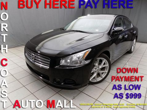 2009 Nissan Maxima 3.5 SV As low as $999 DOWN in Cleveland, Ohio