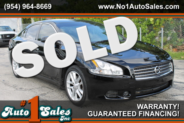 2009 Nissan Maxima 35 S  WARRANTY 2 OWNERS FLORIDA VEHICLE TRADES WELCOME  Enjoy the co