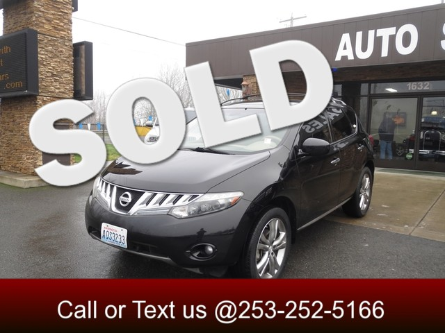 2009 Nissan Murano LE AWD The CARFAX Buy Back Guarantee that comes with this vehicle means that yo