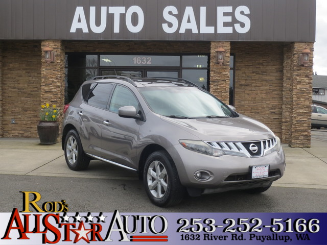 2009 Nissan Murano SL AWD The CARFAX Buy Back Guarantee that comes with this vehicle means that yo