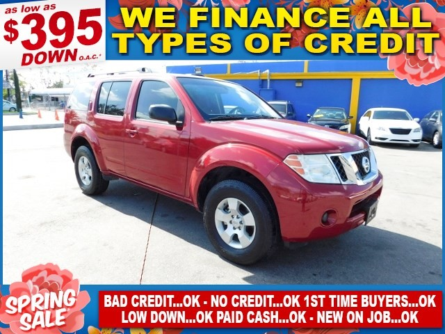 2009 Nissan Pathfinder S Limited warranty included to assure your worry-free purchase AutoCheck r