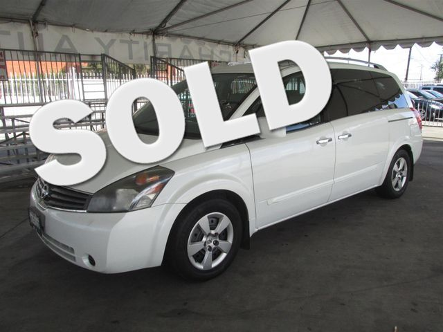 2009 Nissan Quest S This particular Vehicle comes with 3rd Row Seat Please call or e-mail to chec