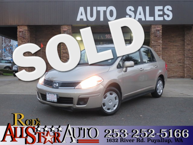 2009 Nissan Versa 18 S The CARFAX Buy Back Guarantee that comes with this vehicle means that you