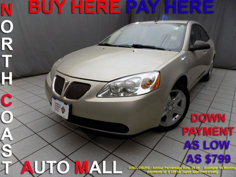 2009 Pontiac G6 w/1SA *Ltd Avail* As low as $799 DOWN in Cleveland, Ohio