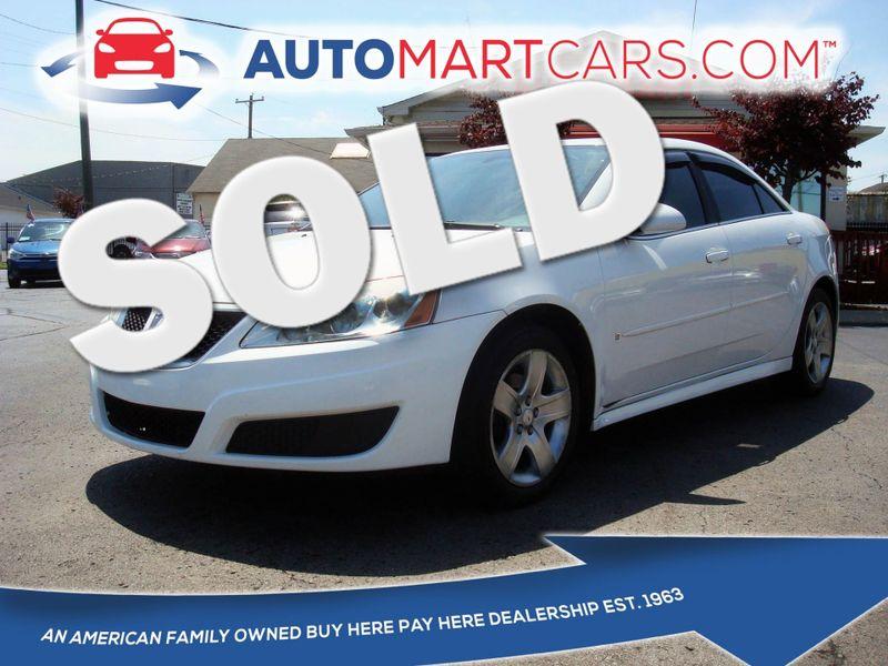2009 Pontiac G6 w/1SB | Nashville, Tennessee | Auto Mart Used Cars Inc. in Nashville Tennessee