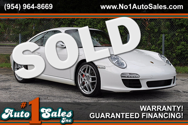 2009 Porsche 911 Carrera S  CARFAX CERTIFIED 17 SERVICE RECORDS LIKE NEW FLORIDA VEHICLE TR
