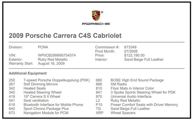 2009 Porsche 911 Carrera 4S AWD - NAV - HEATED/VENTILATED LEATHER! Mooresville , NC 5