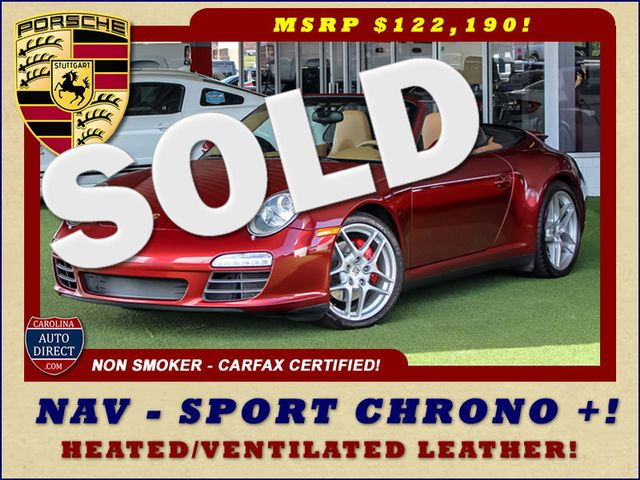 2009 Porsche 911 Carrera 4S AWD - NAV - HEATED/VENTILATED LEATHER! Mooresville , NC 0