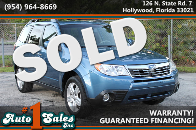 2009 Subaru Forester X Limited  WARRANTY 2 OWNERS 11 SERVICE RECORDS FLORIDA VEHICLE TRADES