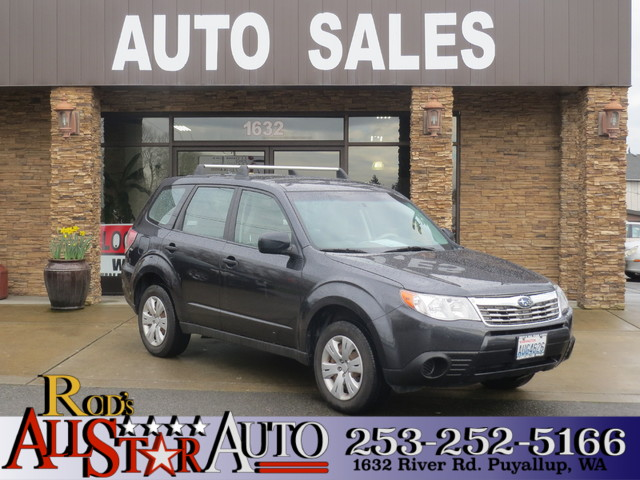 2009 Subaru Forester X AWD The CARFAX Buy Back Guarantee that comes with this vehicle means that y