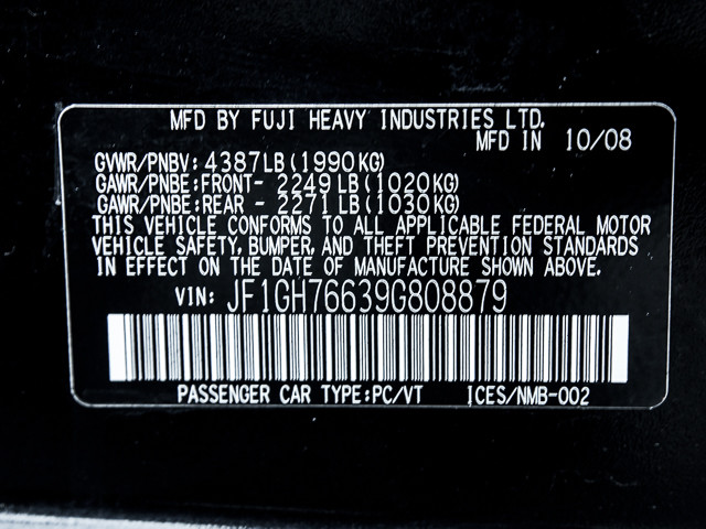 2009 Subaru Impreza WRX Burbank, CA 18
