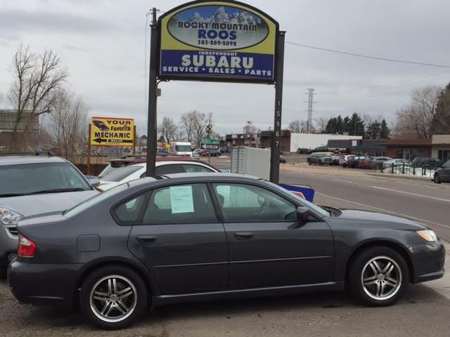 2009 Subaru Legacy Special Edition 5-Spd Manual = SHARP = New Head Gaskets Golden, Colorado 0