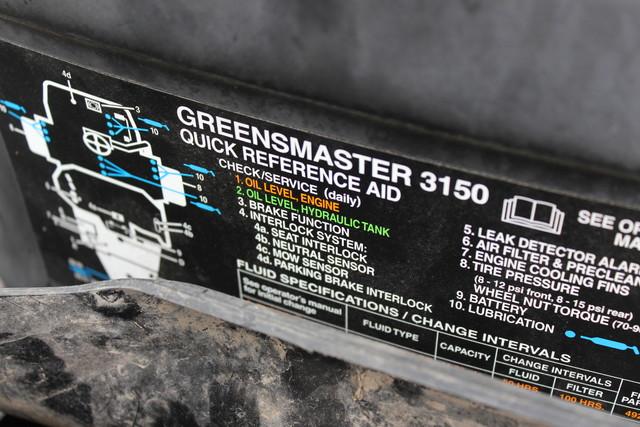 2009 Toro Greensmaster 3150Q Greens Mower San Antonio, Texas 1
