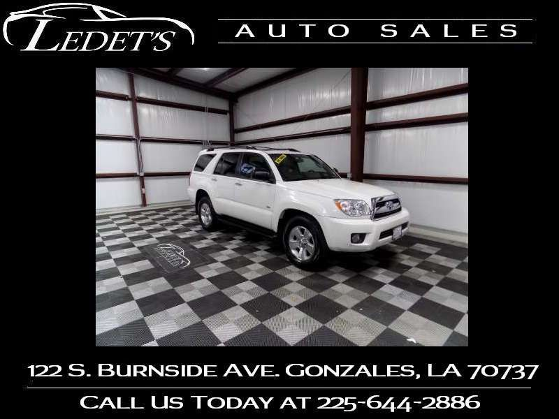 2009 Toyota 4Runner SR5 - Ledet's Auto Sales Gonzales_state_zip in Gonzales Louisiana