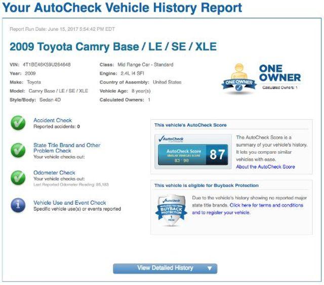 2009 Toyota Camry LE 5-Spd AT San Antonio , Texas 11