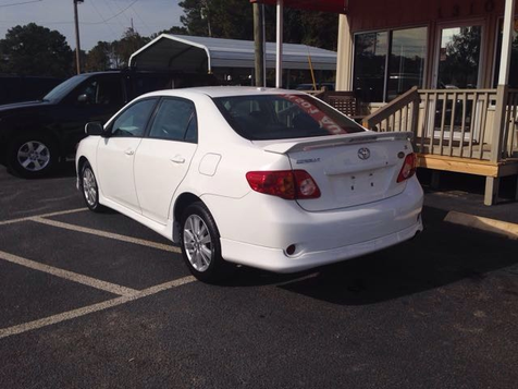 2009 Toyota Corolla S 4-Speed AT | Myrtle Beach, South Carolina | Hudson Auto Sales in Myrtle Beach, South Carolina