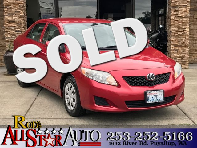 2009 Toyota Corolla LE The CARFAX Buy Back Guarantee that comes with this vehicle means that you c