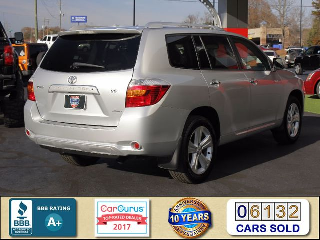 2009 Toyota Highlander Limited 4WD - NAVIGATION - REAR DVD - SUNROOF! Mooresville , NC 2