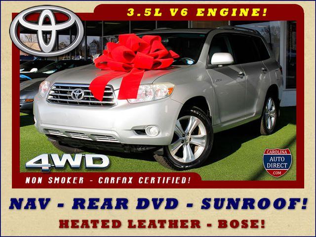 2009 Toyota Highlander Limited 4WD - NAVIGATION - REAR DVD - SUNROOF! Mooresville , NC 0