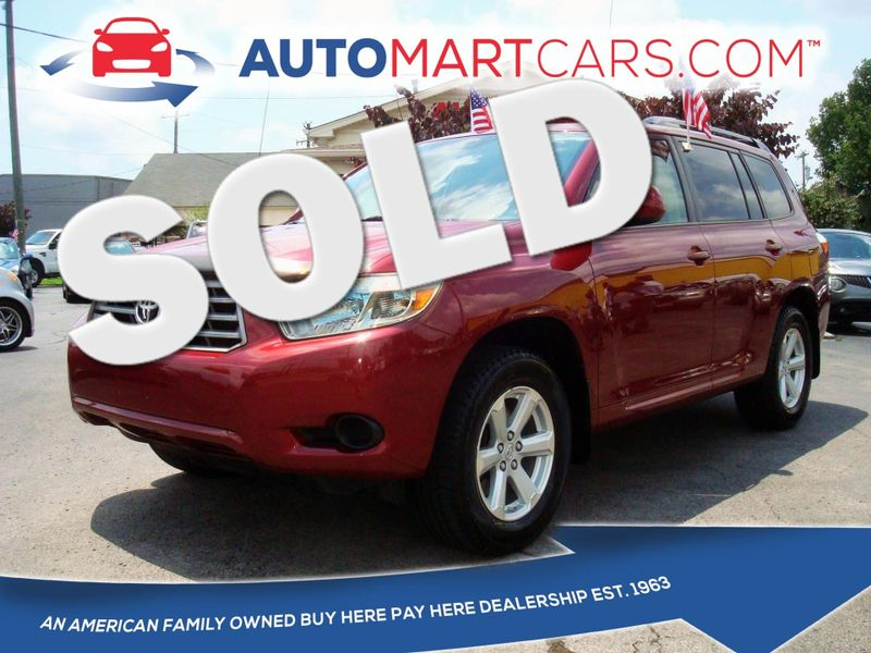 2009 Toyota Highlander Base | Nashville, Tennessee | Auto Mart Used Cars Inc. in Nashville Tennessee