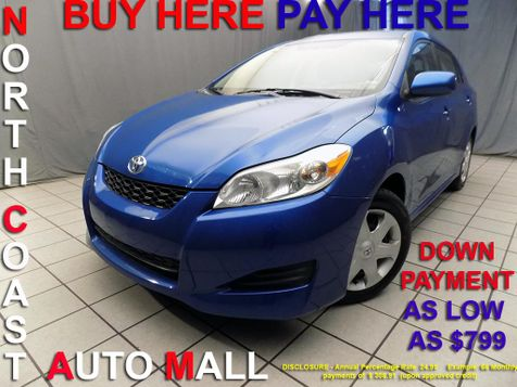 2009 Toyota Matrix As low as $799 DOWN in Cleveland, Ohio