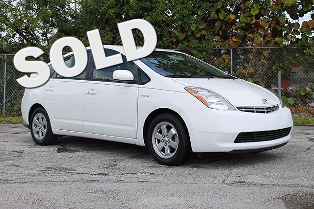 2009 Toyota Prius  WARRANTY CARFAX CERTIFIED 1 OWNER 13 SERVICE RECORDS GAS SAVER FLORIDA