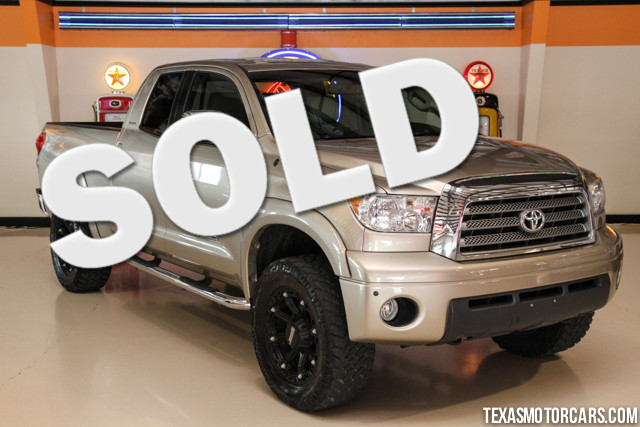 2009 Toyota Tundra LTD Financing is available with rates as low as 29 wac Get pre-approved in