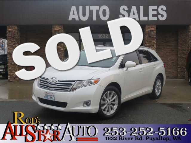 2009 Toyota Venza The CARFAX Buy Back Guarantee that comes with this vehicle means that you can bu