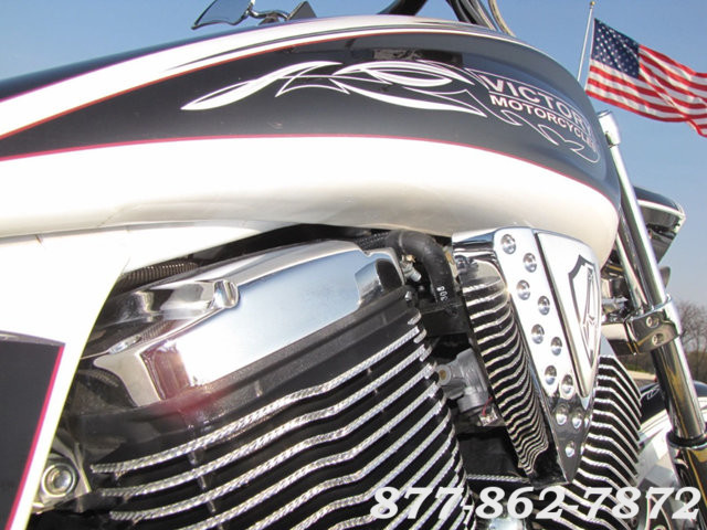 2009 Victory Motorcycles CORY NESS JACKPOT SIGNATURE SERIES CORY NESS JACKPOT McHenry, Illinois 25