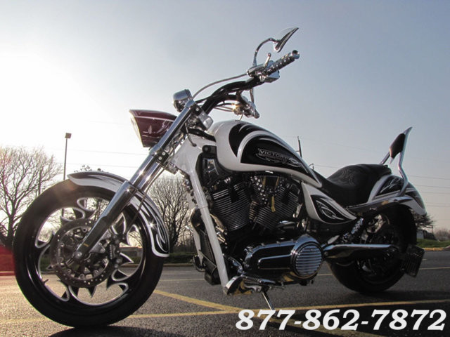 2009 Victory Motorcycles CORY NESS JACKPOT SIGNATURE SERIES CORY NESS JACKPOT McHenry, Illinois 30