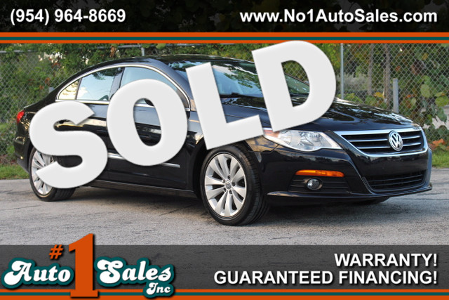 2009 Volkswagen CC Sport  WARRANTY CARFAX CERTIFIED AUTOCHECK CERTIFIED FLORIDA VEHICLE 17