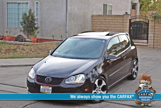 2009 Volkswagen GTI HATCHBACK DSG AUTOMATIC SUNROOF LEATHER SERVICE RECORDS XENON Woodland Hills, CA 0