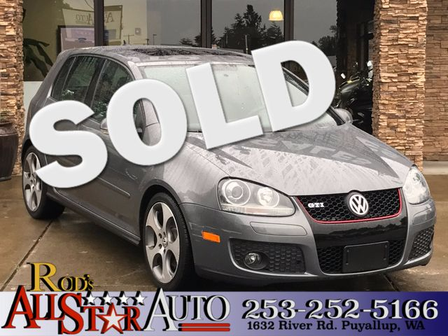 2009 Volkswagen GTI This vehicle is a CarFax certified one-owner used car Pre-owned vehicles can