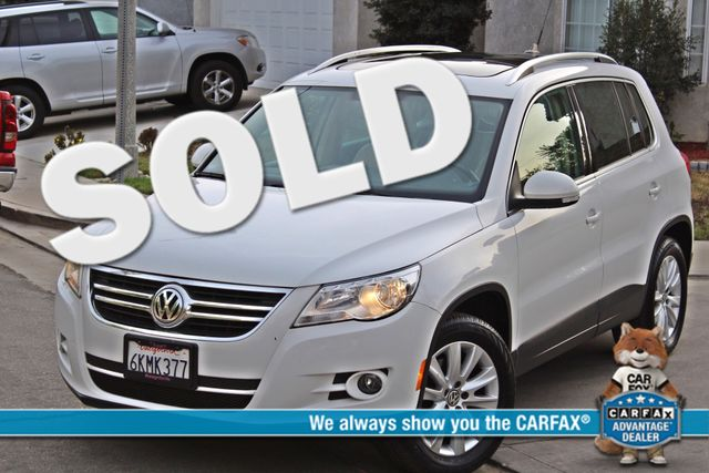 2009 Volkswagen TIGUAN SE 74K MLS 1-OWNER AUTOMATIC PANORAMIC ROOF NAVIGATION Woodland Hills, CA 0