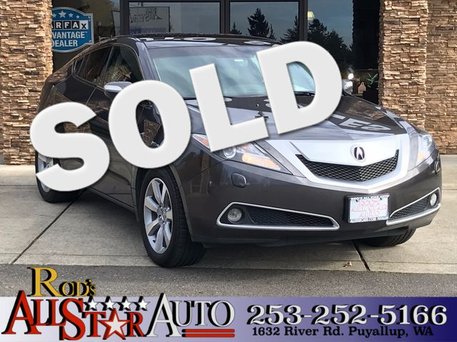 2010 Acura ZDX Tech Pkg 4WD The CARFAX Buy Back Guarantee that comes with this vehicle means that