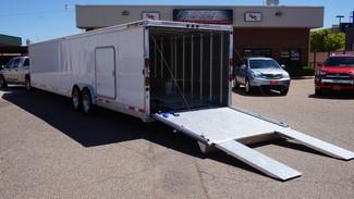 2010 Alum-Line Gooseneck Enclosed Trailer  in Lubbock, Texas