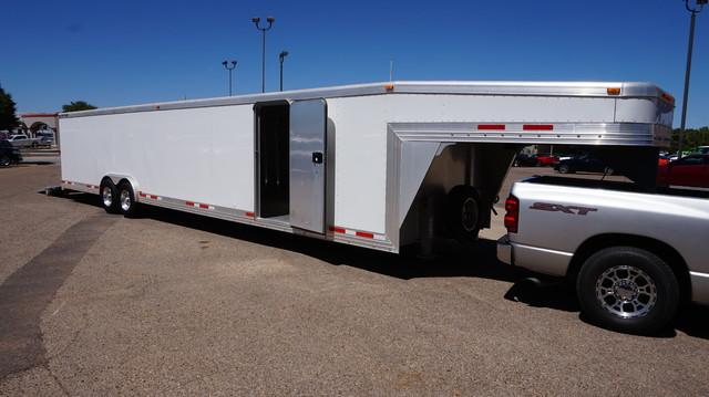 2010 Alum-Line Gooseneck Enclosed Trailer  | Lubbock, Texas | Classic Motor Cars