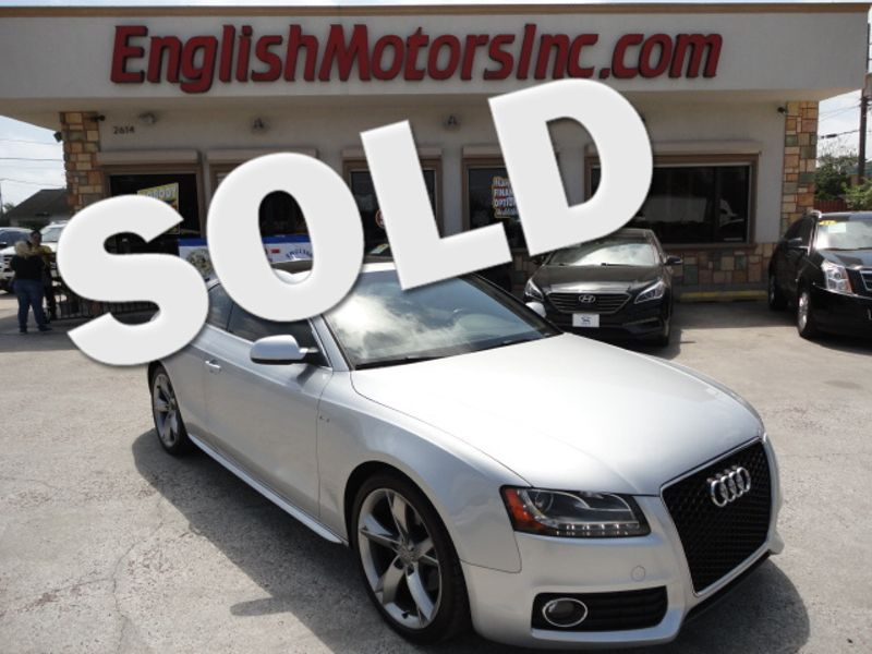 2010 Audi A5 20L Prestige  Brownsville TX  English Motors  in Brownsville, TX