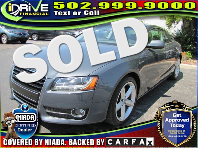 2010 Audi A5 3.2L Premium Plus | Louisville, Kentucky | iDrive Financial in Louisville Kentucky