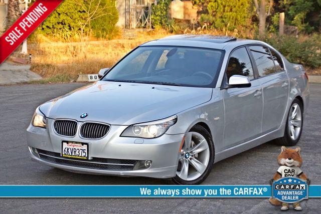 2010 BMW 528I SPORTS / PREMIUM PKG XENON SERVICE RECORDS NAVIGATION SYSTEM BLUETOOTH Woodland Hills, CA 0