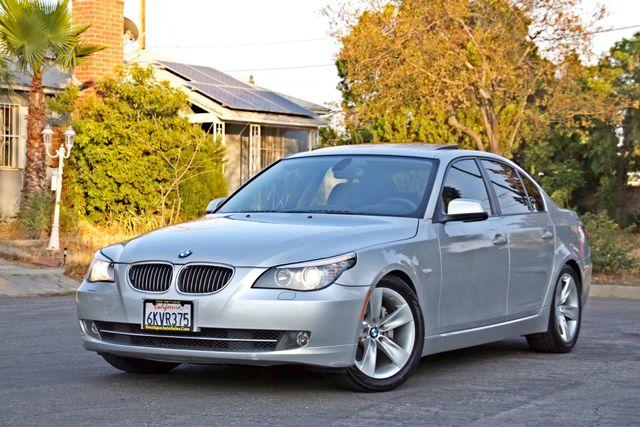 2010 BMW 528I SPORTS / PREMIUM PKG XENON SERVICE RECORDS NAVIGATION SYSTEM BLUETOOTH Woodland Hills, CA 2