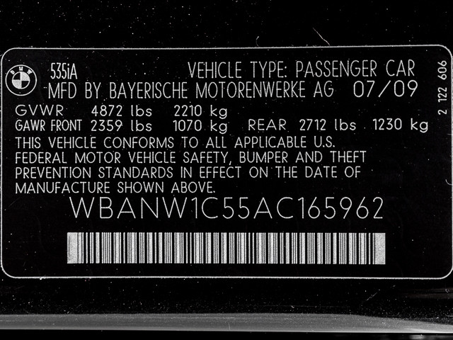2010 BMW 535i Burbank, CA 29