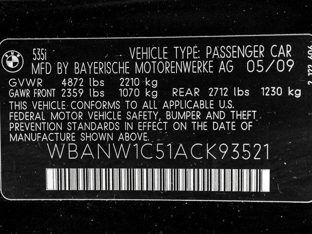 2010 BMW 535i Burbank, CA 20