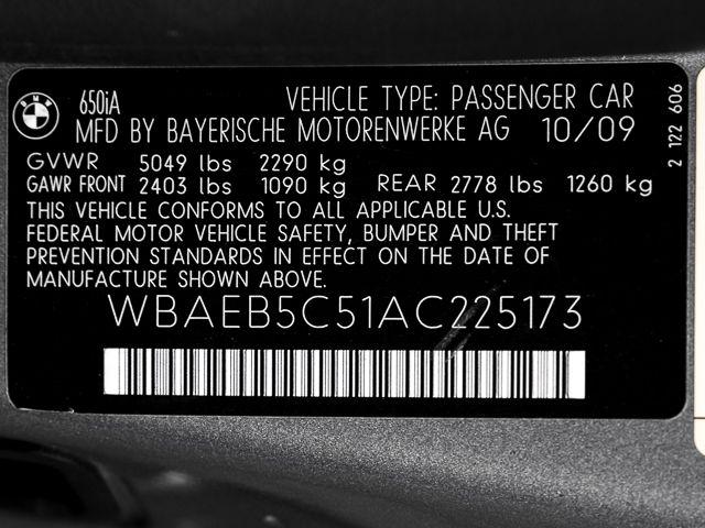 2010 BMW 650i Burbank, CA 25