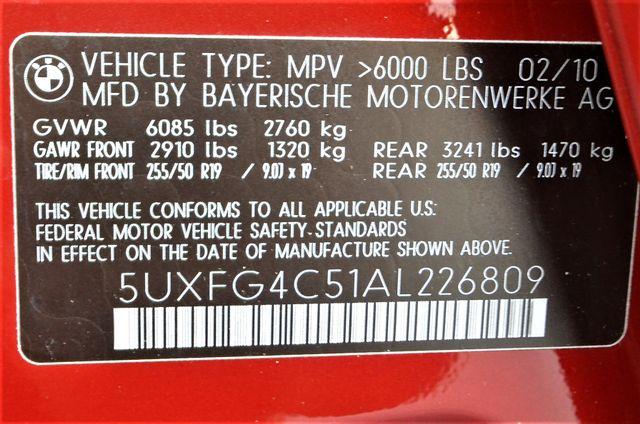 2010 BMW X6 xDrive35i Reseda, CA 40