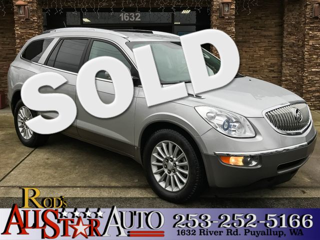 2010 Buick Enclave CX The CARFAX Buy Back Guarantee that comes with this vehicle means that you ca