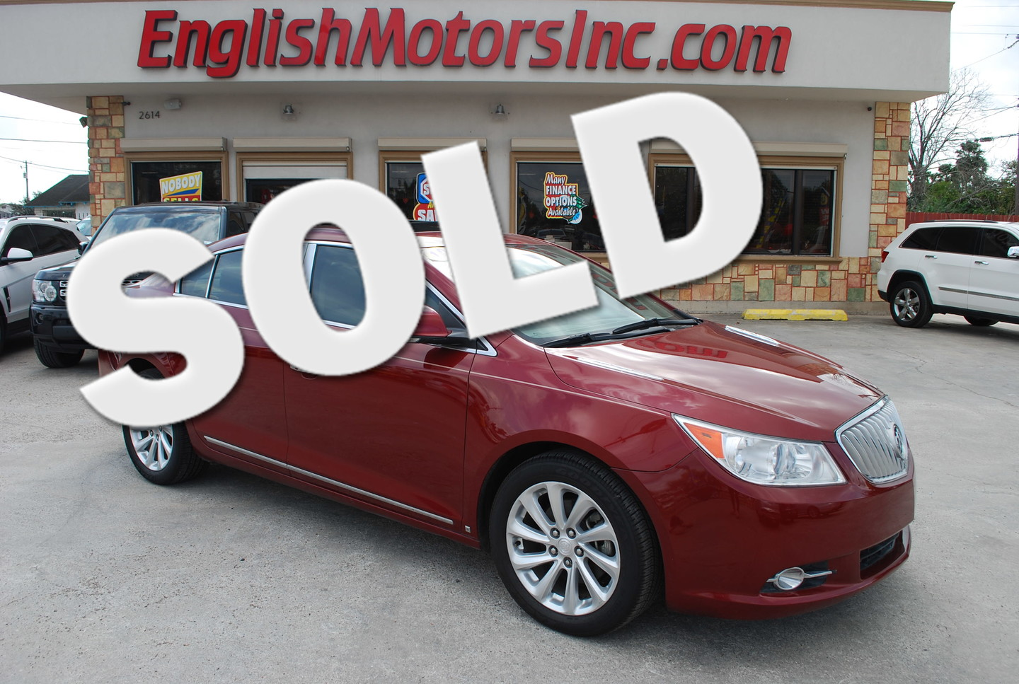 2010 buick lacrosse cxs brownsville tx english motors for English motors inc brownsville tx